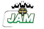 Imagem escrita JAM com o emblema